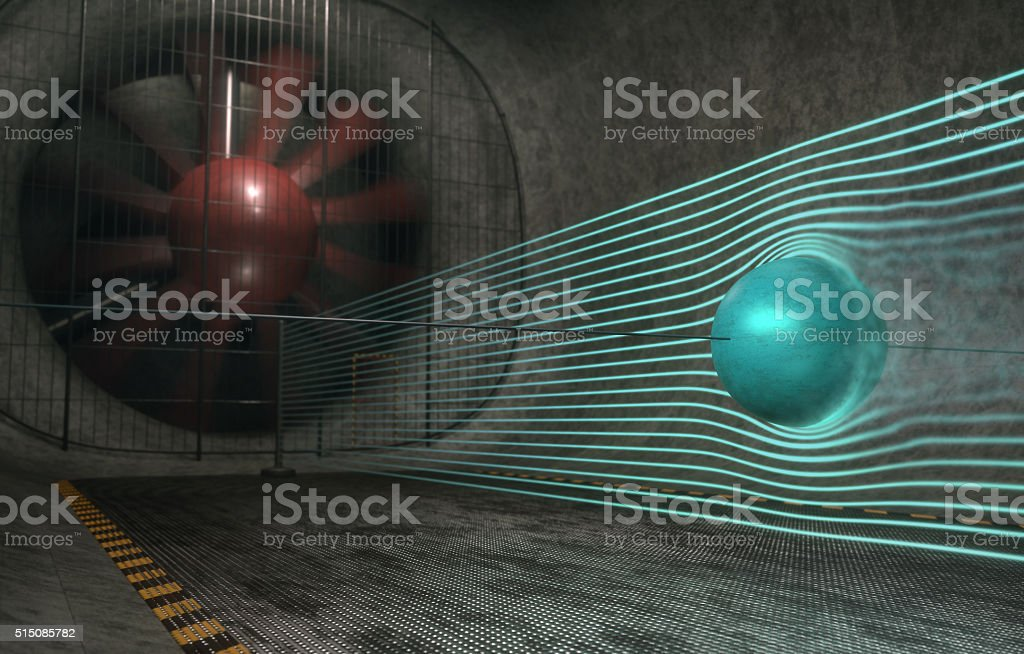 Sphere Drag Coefficient stock photo