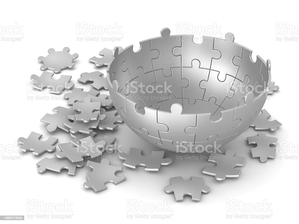 Sphere Puzzle royalty-free stock photo