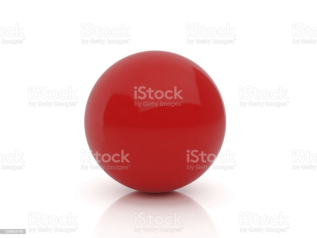 sphere set three stock photo
