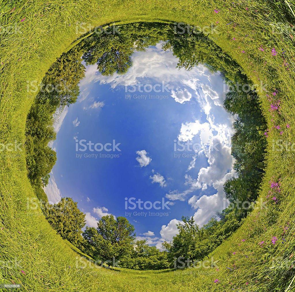 Sphere world royalty-free stock photo