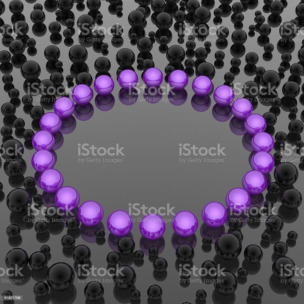 spheres background royalty-free stock photo