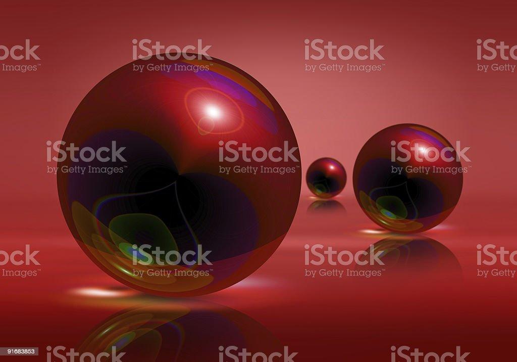 Spheres royalty-free stock photo