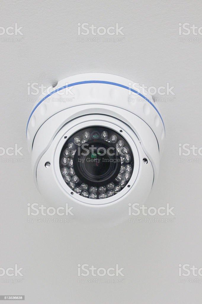 Spherical Security  Mount Camera stock photo