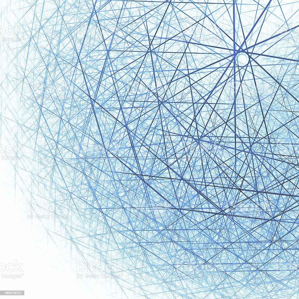 Spherical structure stock photo