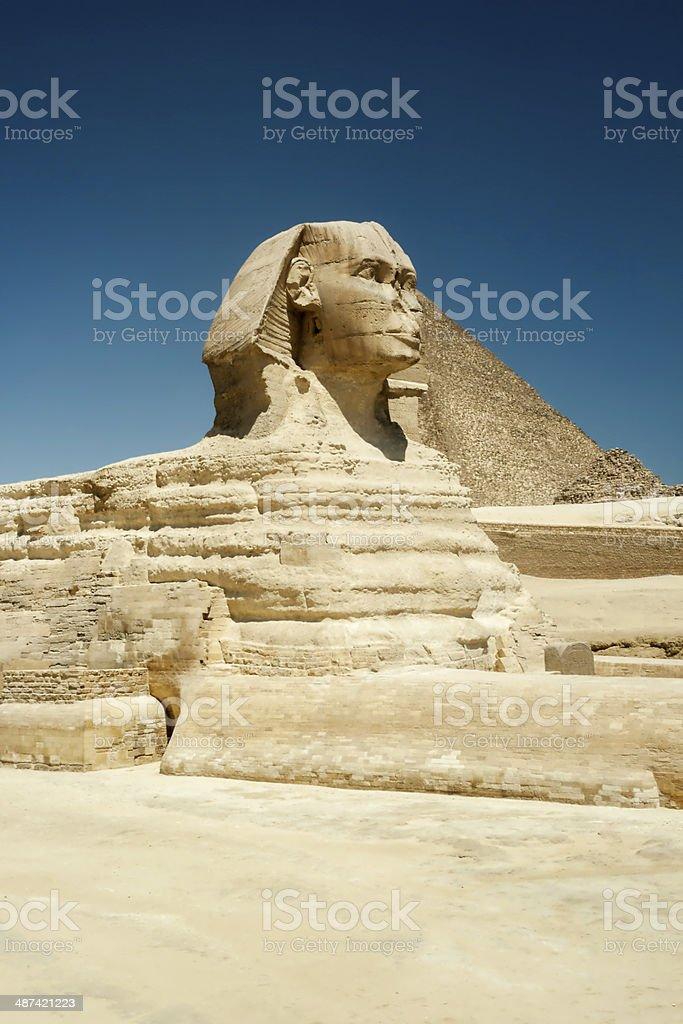 Sphinx At Gisa, Egypt stock photo