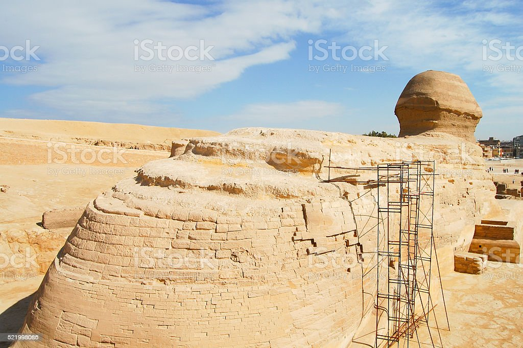 Sphinx - Egypt stock photo