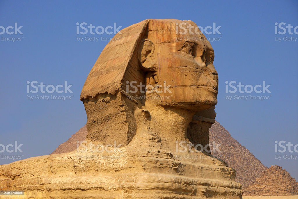 Sphinx, EGYPT. stock photo