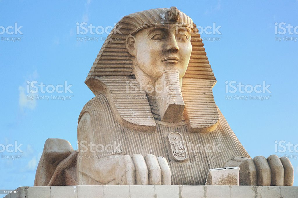 Sphinx, Egypt stock photo