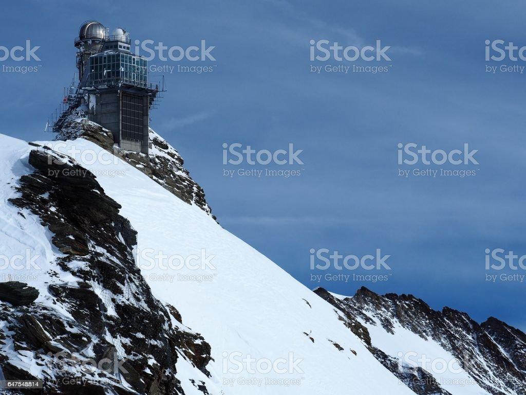 Sphinx Observatory, Jungfrau Plateau, Switzerland stock photo