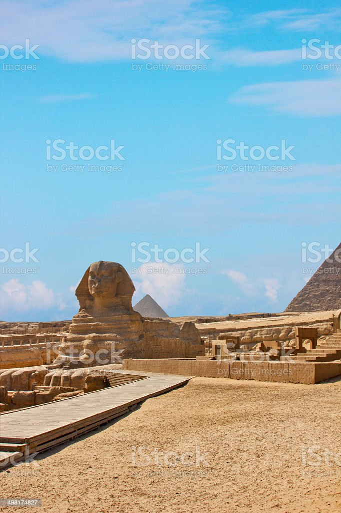 Sphinx Of Egypt royalty-free stock photo