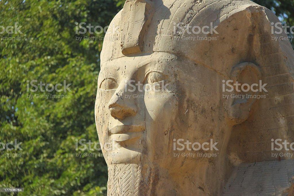 Sphinx of Memphis royalty-free stock photo