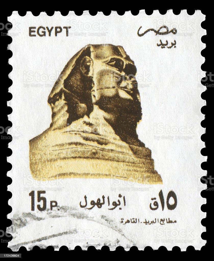 Sphinx royalty-free stock photo