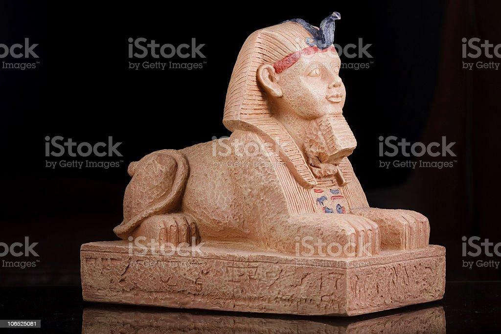 Sphinx replica stock photo