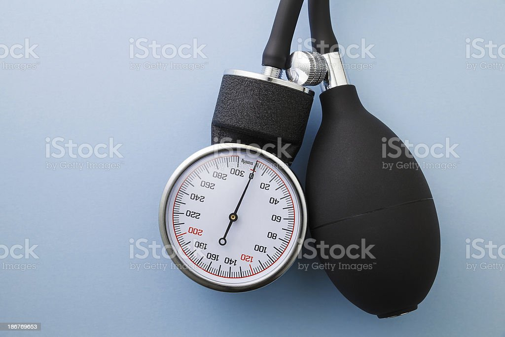 Sphygmomanometer royalty-free stock photo