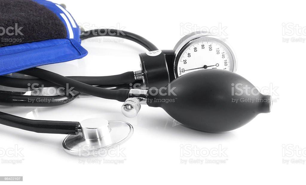 Sphygmomanometer royalty-free stock photo