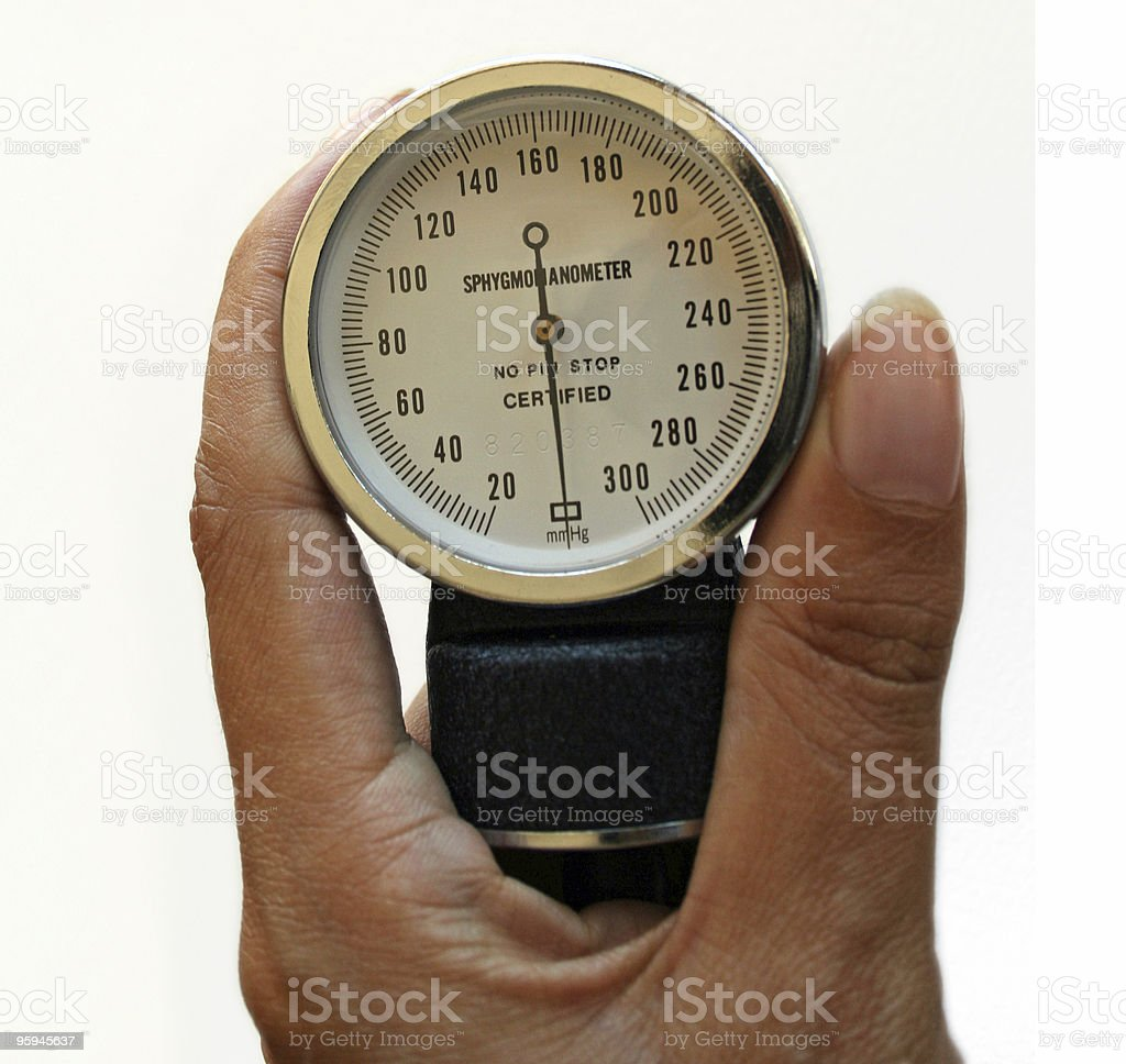 Sphygmomanometer photo libre de droits
