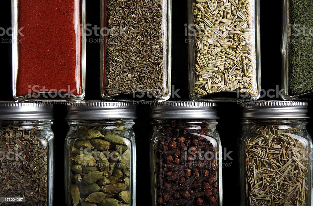 spice and seasoning royalty-free stock photo