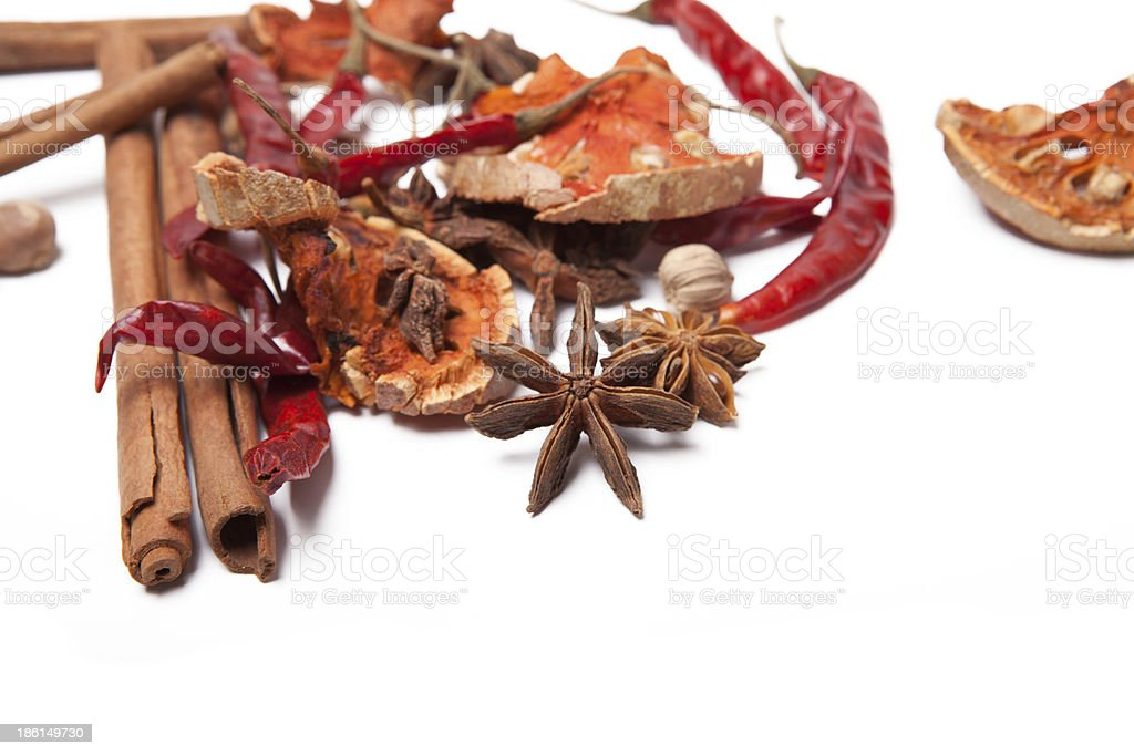 Spice background royalty-free stock photo