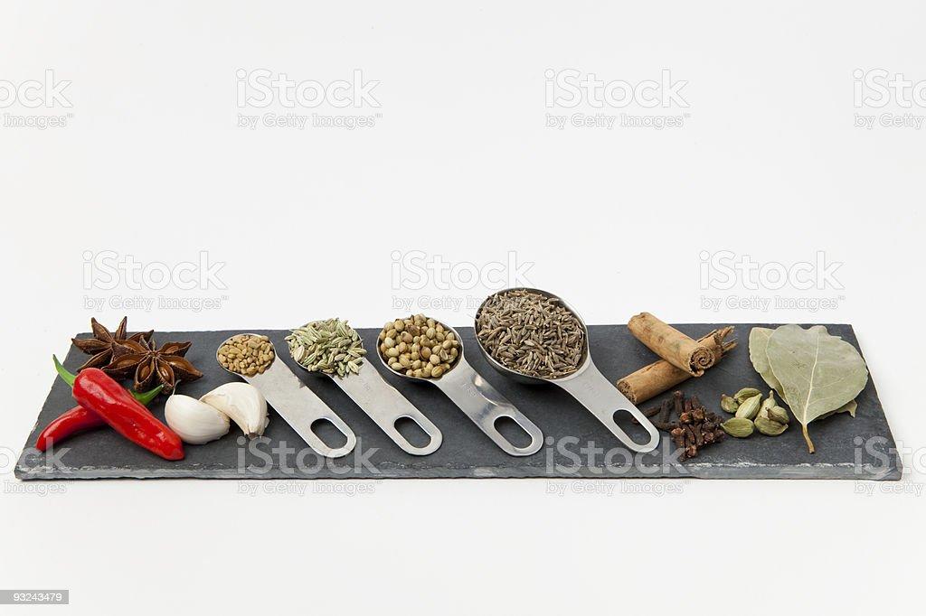 Spice board royalty-free stock photo