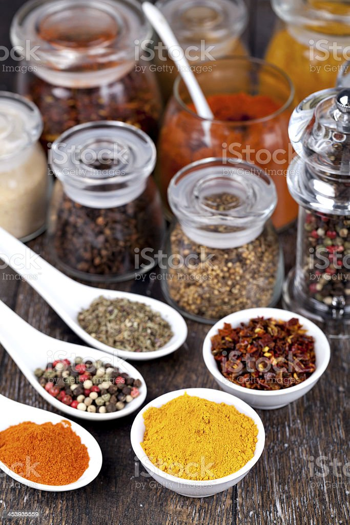 Spice collection royalty-free stock photo