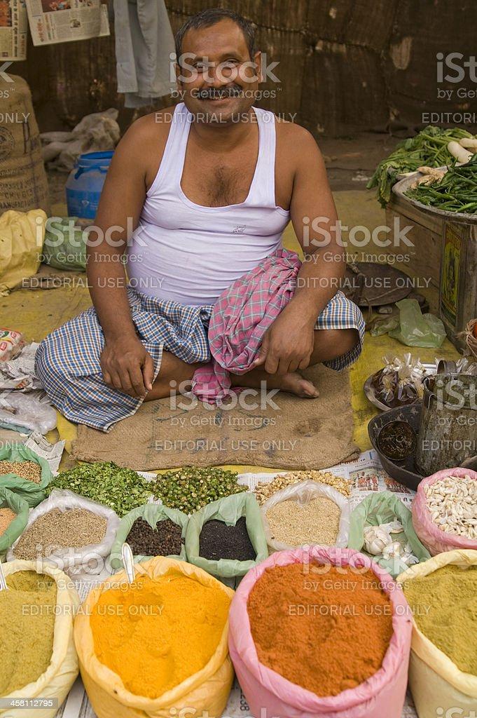 Spice Man royalty-free stock photo