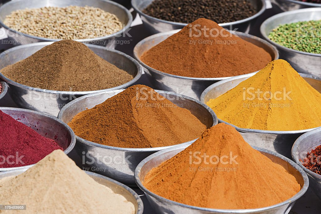 Spice market in Egypt royalty-free stock photo