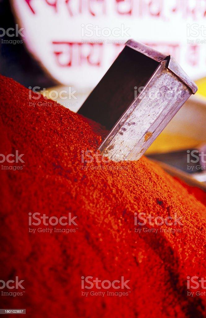 Spice Markets royalty-free stock photo