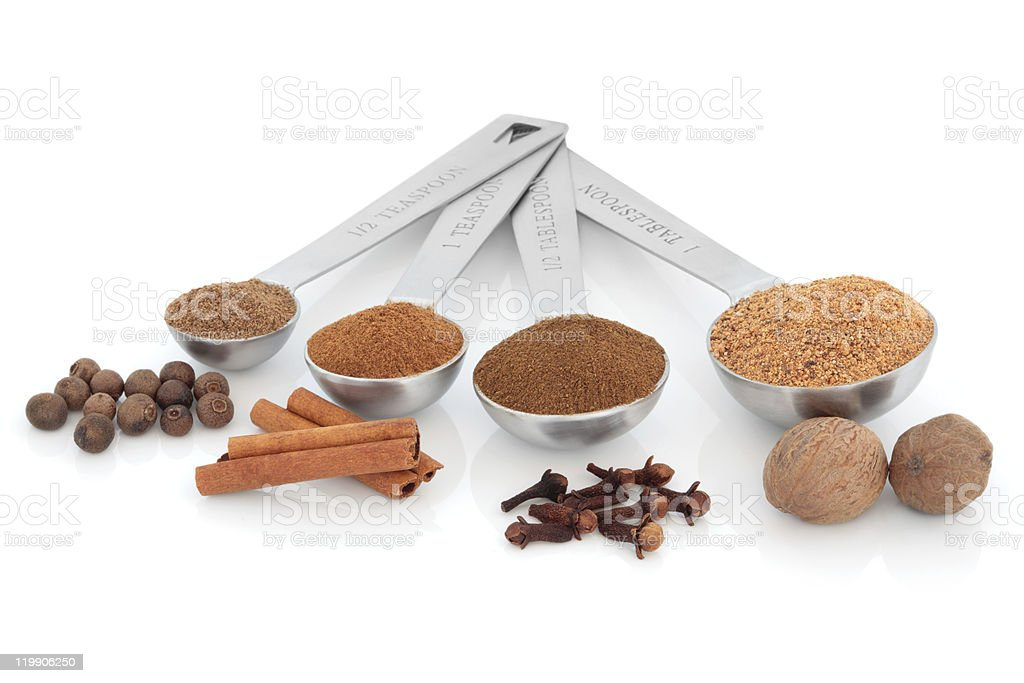 Spice Measurement stock photo