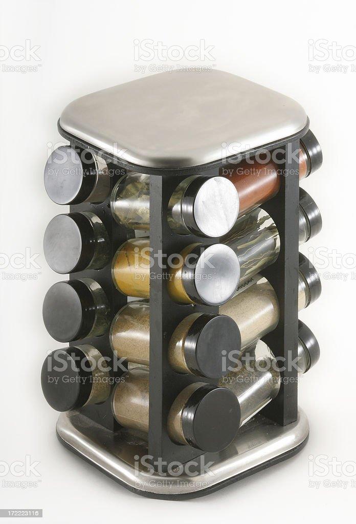 Spice Rack royalty-free stock photo