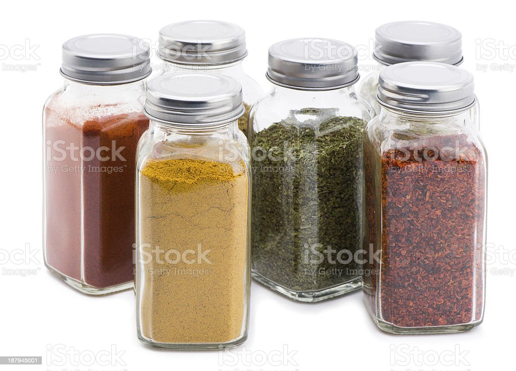 Spice Set stock photo