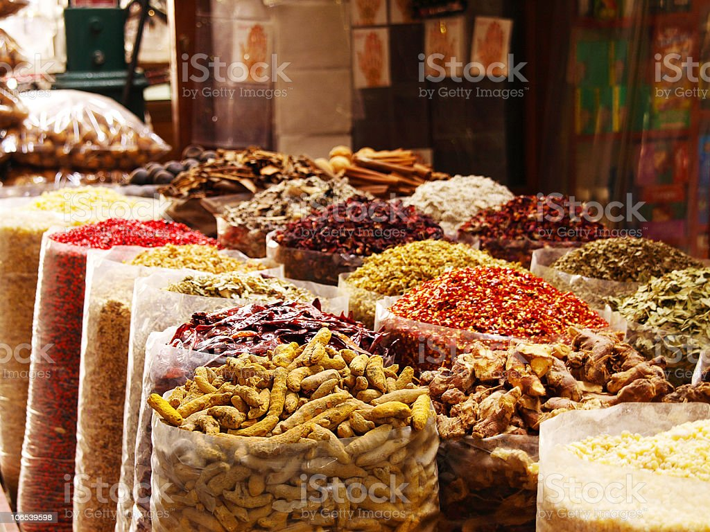 Spice Souk royalty-free stock photo