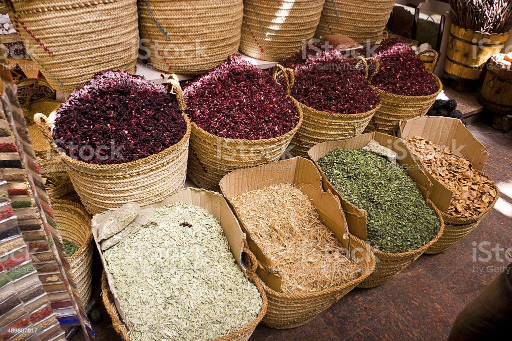 Spice Store stock photo