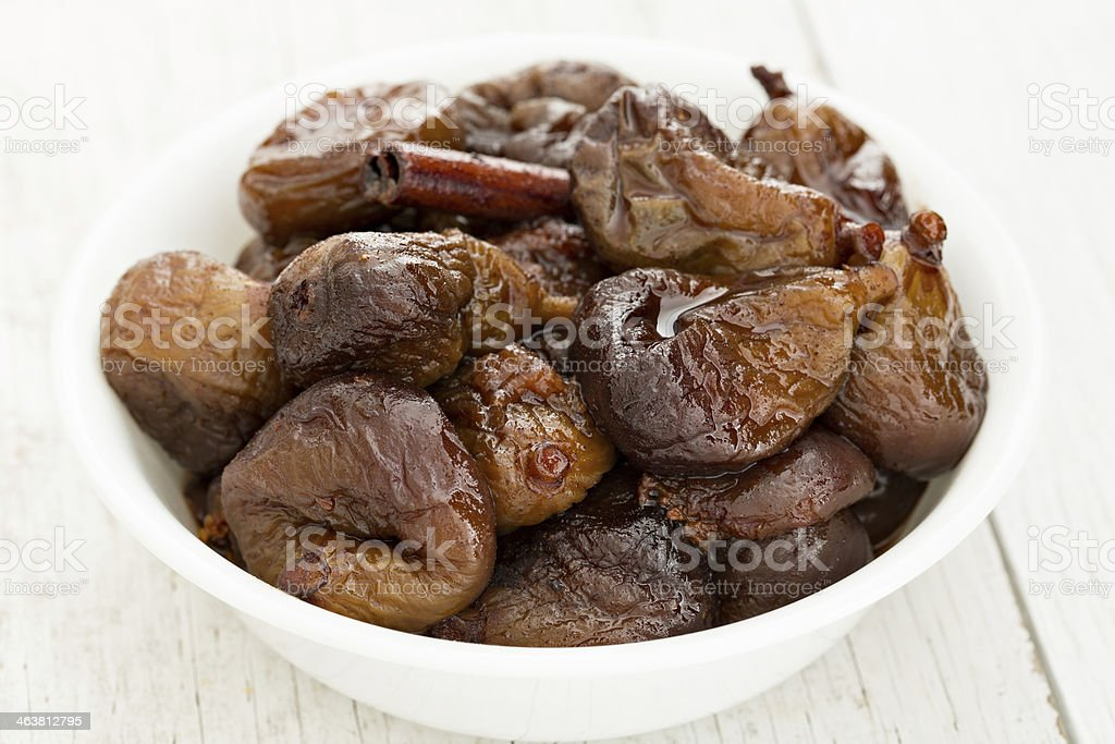 Spiced Figs royalty-free stock photo