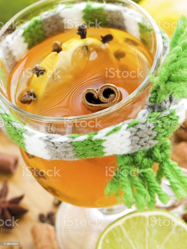 Spiced tea royalty-free stock photo