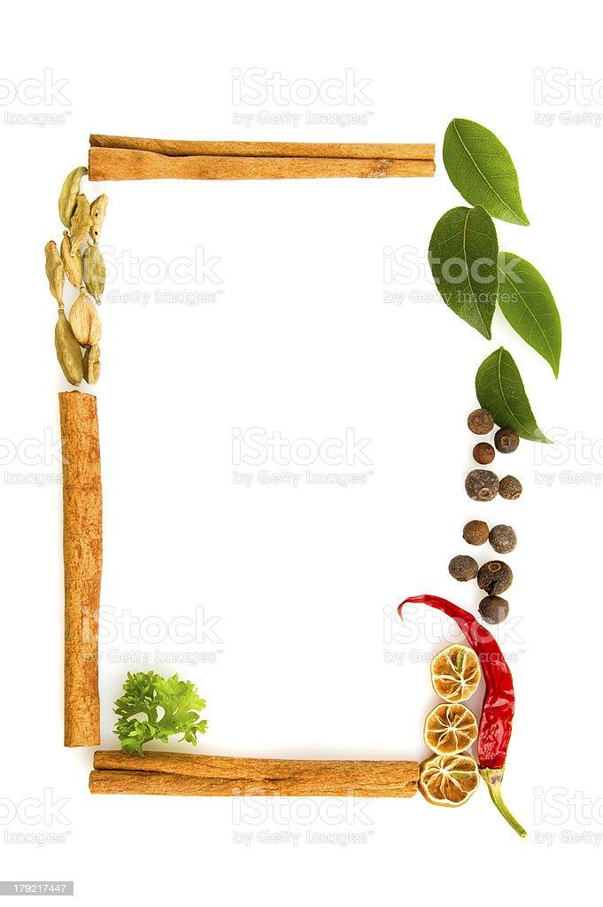 spicery frame royalty-free stock photo