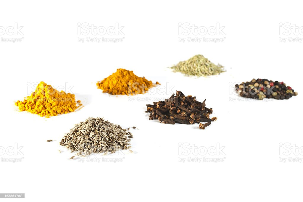 spices a hill royalty-free stock photo