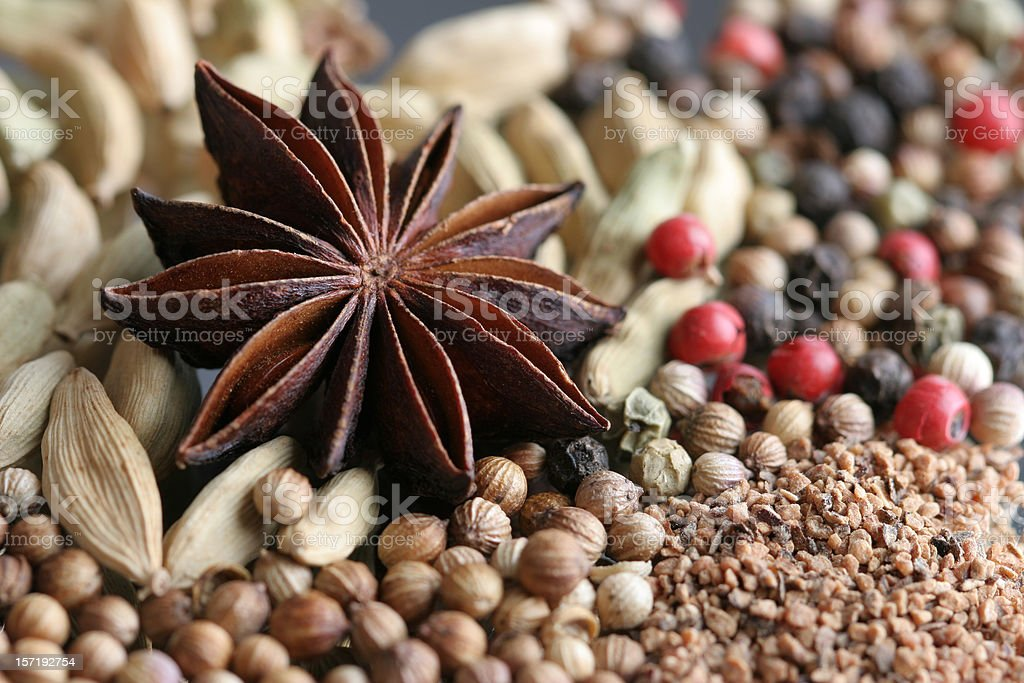 spices close up royalty-free stock photo