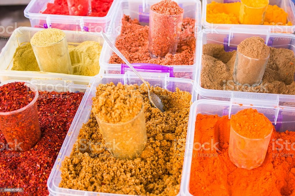 spices for food stock photo