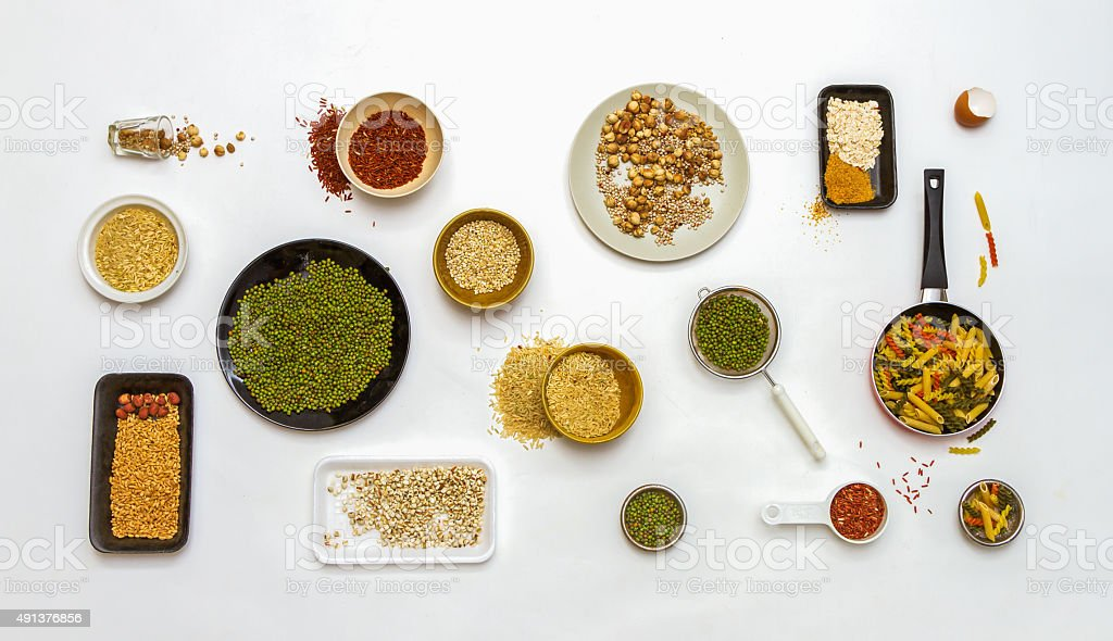 spices for health. stock photo