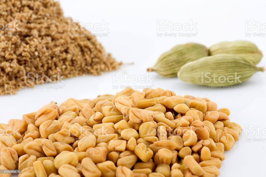 Spices for Indian Cooking stock photo