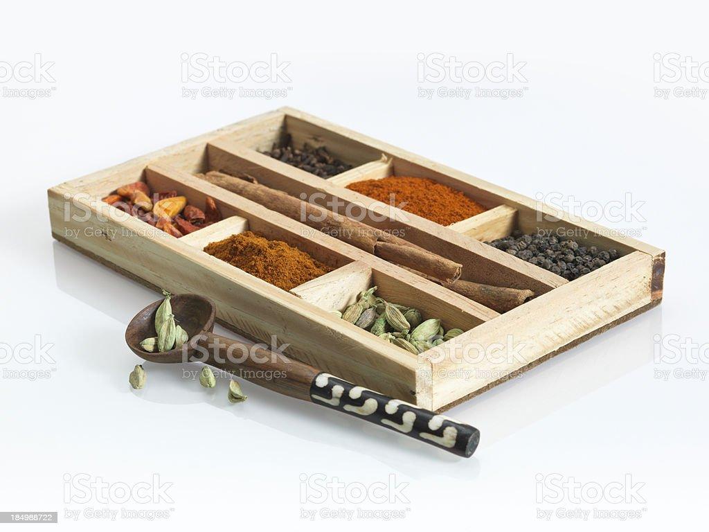 Spices from Zanzibar, the Spice Island, Tanzania stock photo