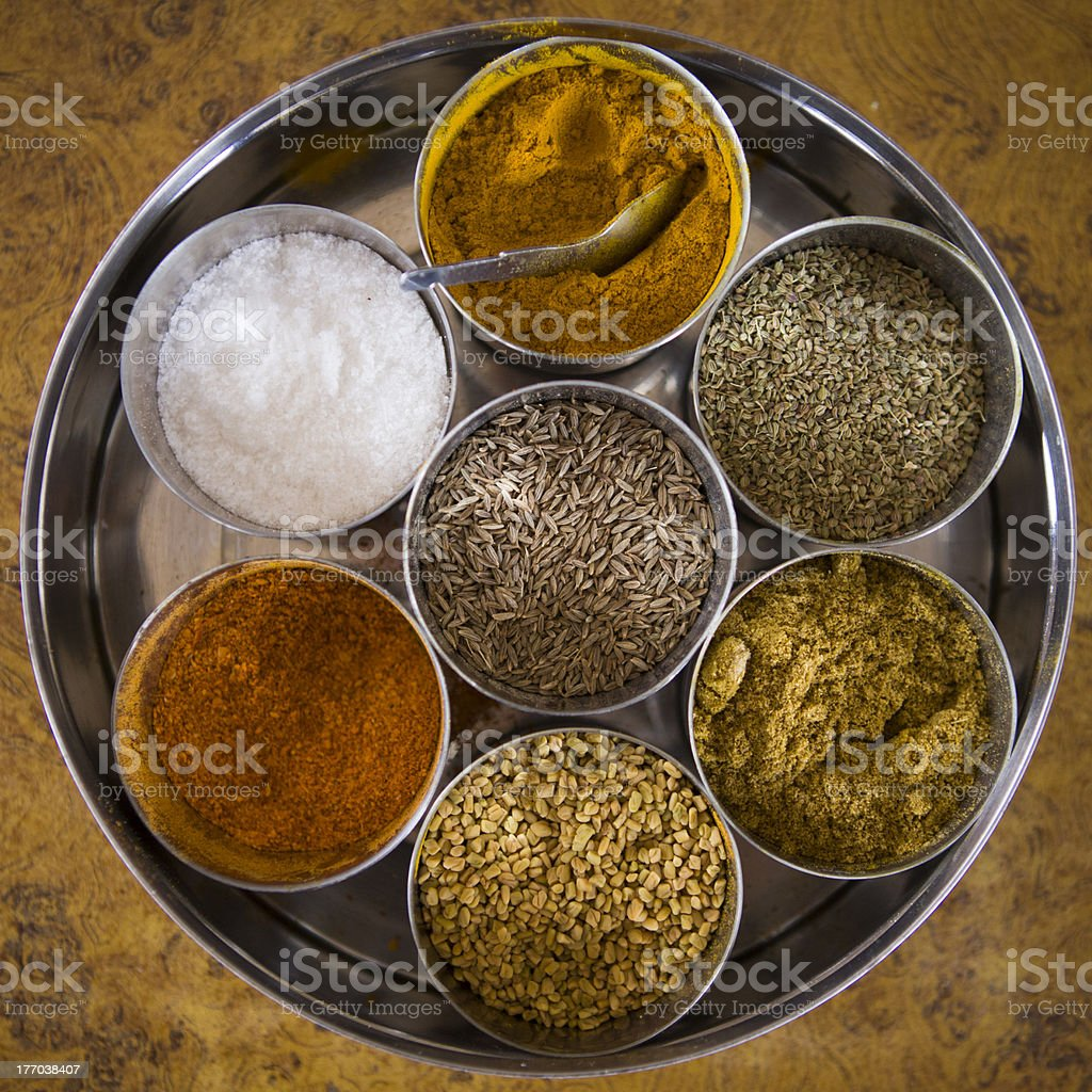 Spices in home. royalty-free stock photo