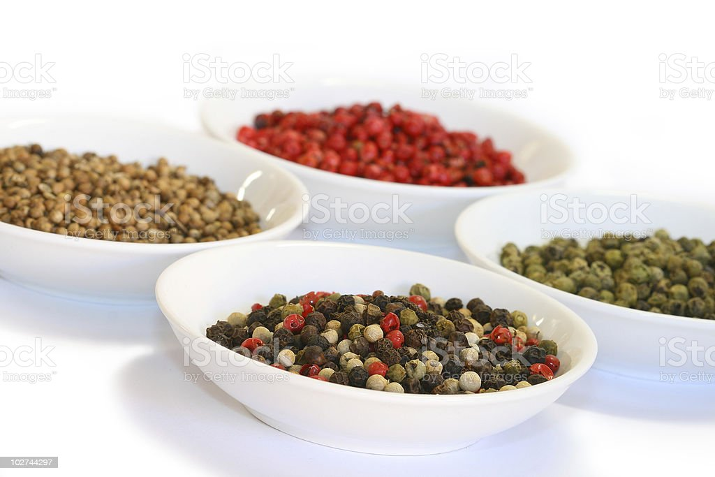 Spices - pepper stock photo