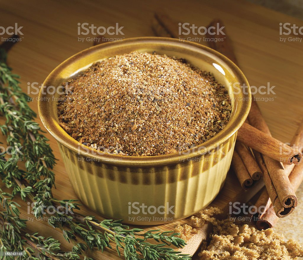 BBQ spices stock photo