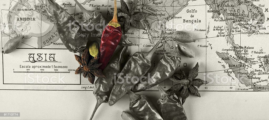 Spicy  Asia royalty-free stock photo