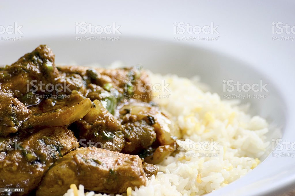 Spicy Chicken Curry 3 royalty-free stock photo