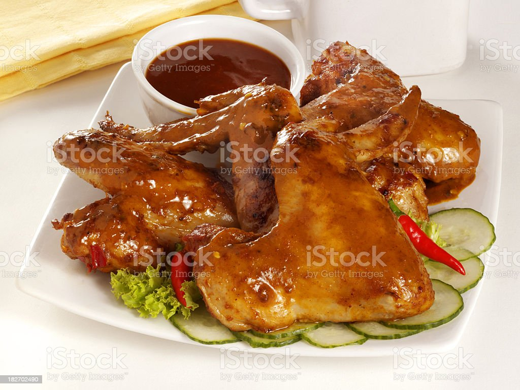 Spicy Chicken stock photo