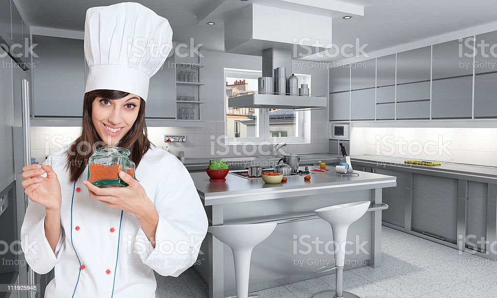 Spicy cooking royalty-free stock photo