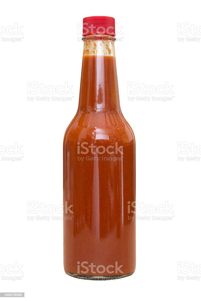 Spicy Hot Sauce stock photo