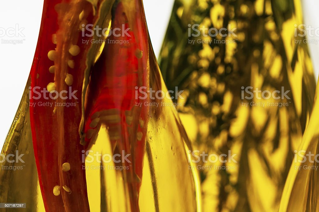 Spicy olive oil royalty-free stock photo